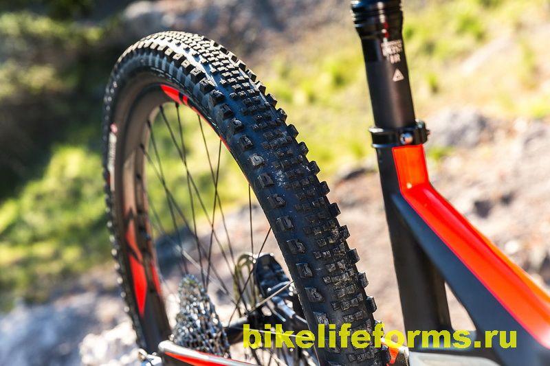Накат велосипедной резины