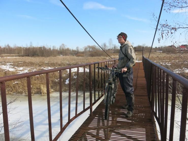 Максим Компаниец:  я  катаюсь на велосипеде круглый год