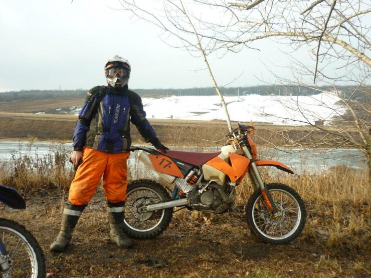 Suzuki, dr250r, ktm 525 exc или история всей моей мототехники