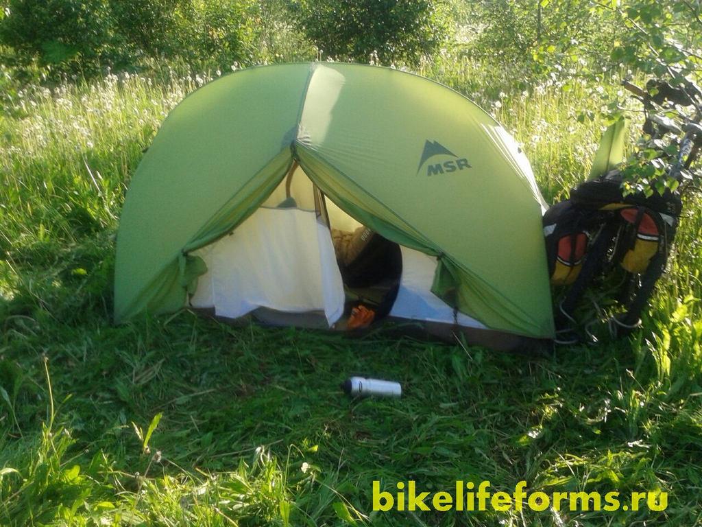 Палатка MSR Hubba Bubba HP отзыв и обзор после 6 лет использования