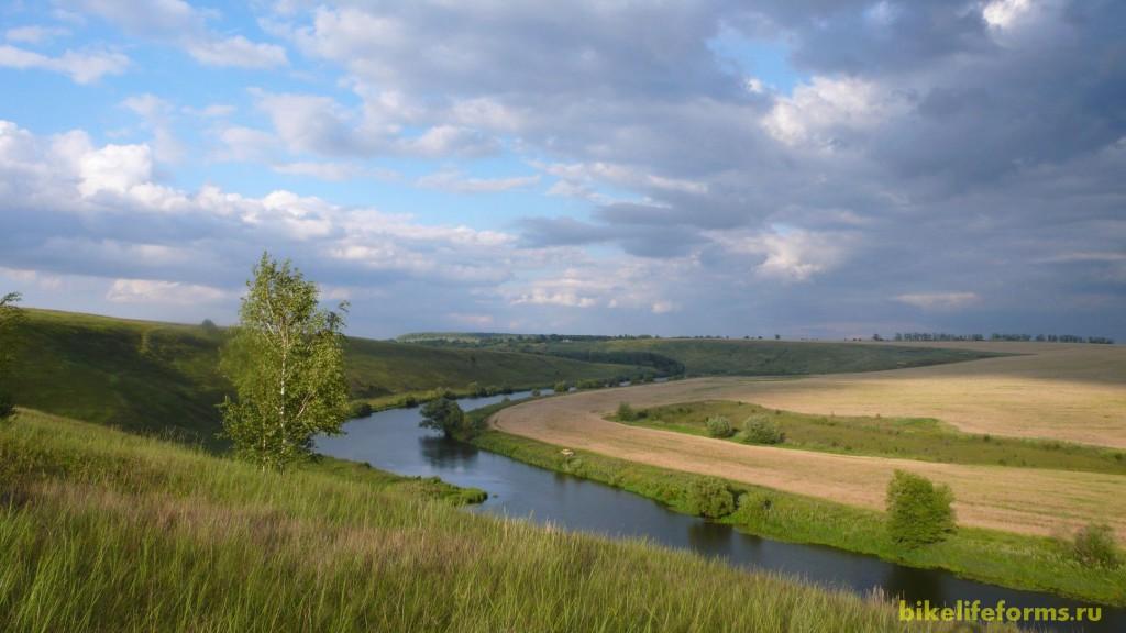 Велопоход Ефремов — Елец вдоль берегов Красивой мечи
