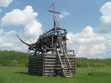 Велопоход на Угру: Гагарин-Суходрев. Май 2012