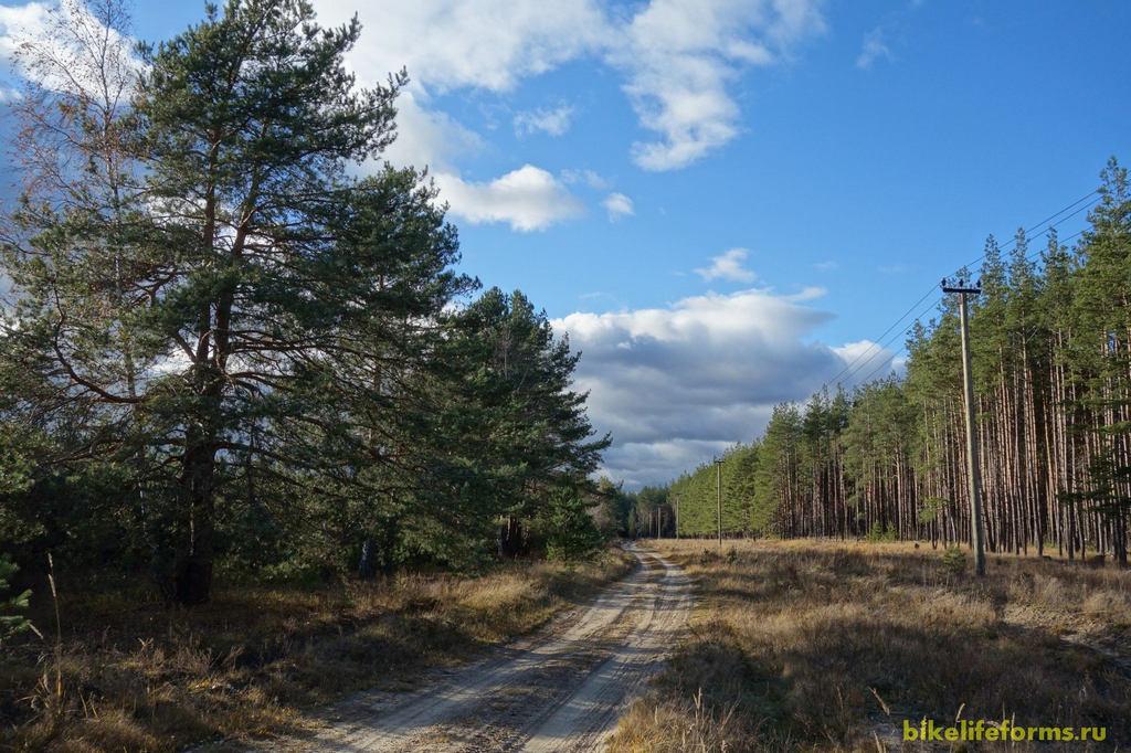 Княжегорская железная дорога на велосипеде