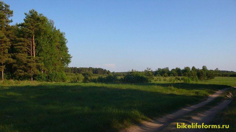 Велопоездка через Завидовский заповедник с севера от Чуприяновки