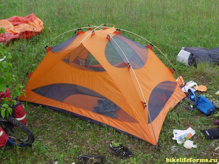 Мнение и отзыв о  палатке Marmot limelight 2 person