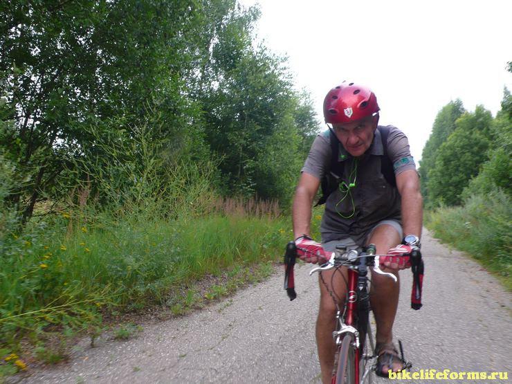 Поход выходного дня на велосипеде. От Редкино до Волоколамска с ночевкой.