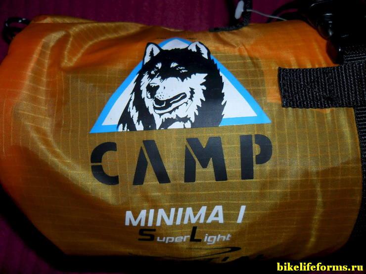 Легкая одноместная палатка Camp minima 1 sl отзыв и обзор