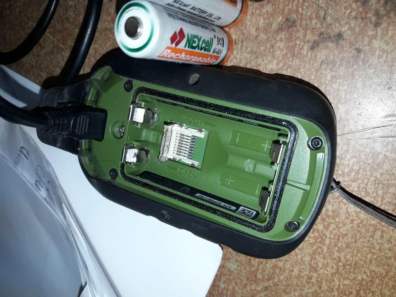 Восстановление навигатора Garmin, превратившегося в «кирпич»