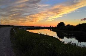 Ночная велопоездка в район Волго-Шошенской низменности