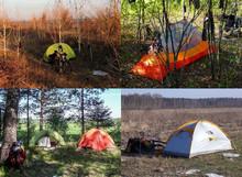 Выбор места для установки палатки в велопоходе