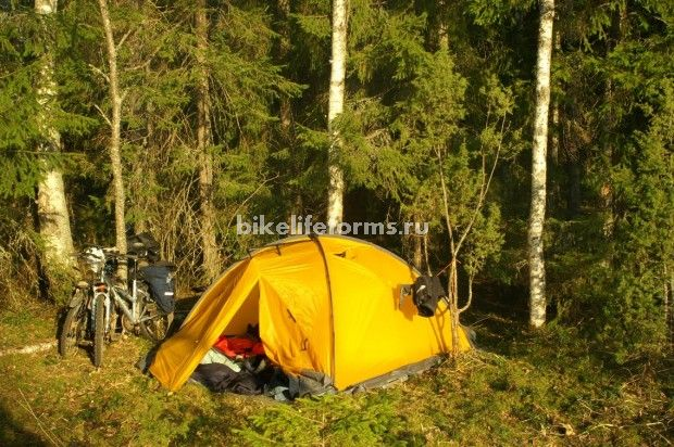Отзыв о палатке Снаряжение Оберон 3