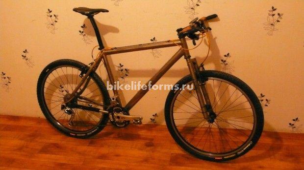 сборка титанового велосипеда
