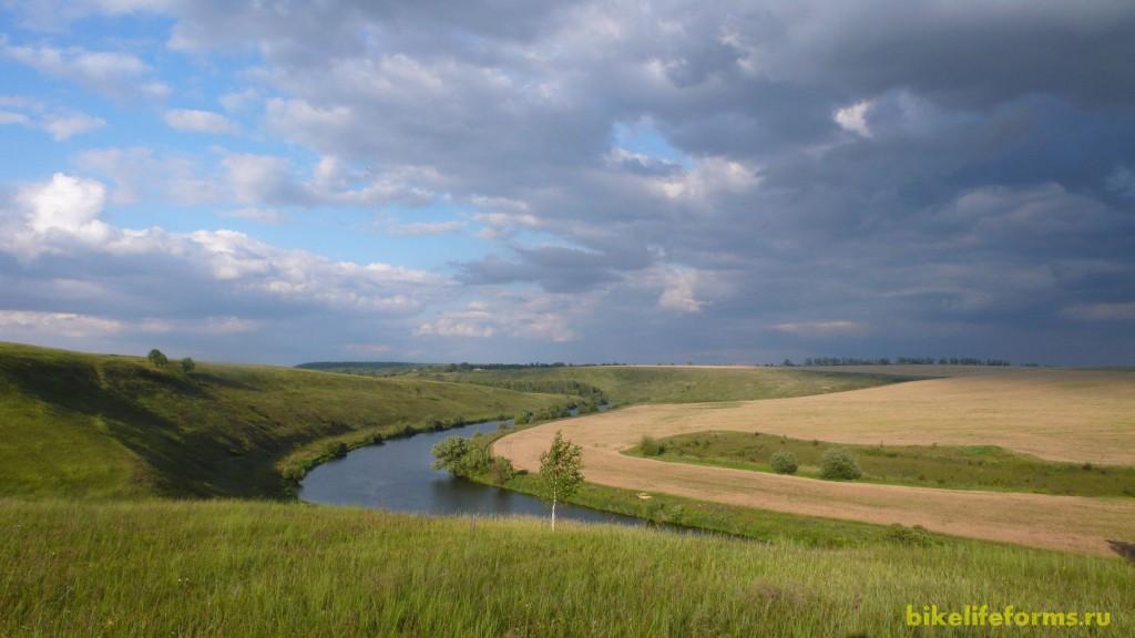 И вот последний поворот реки...