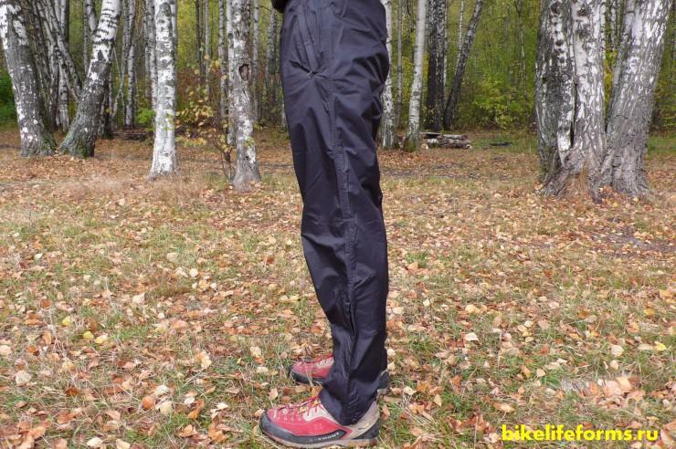 Мембранные штаны мармот вид сбоку