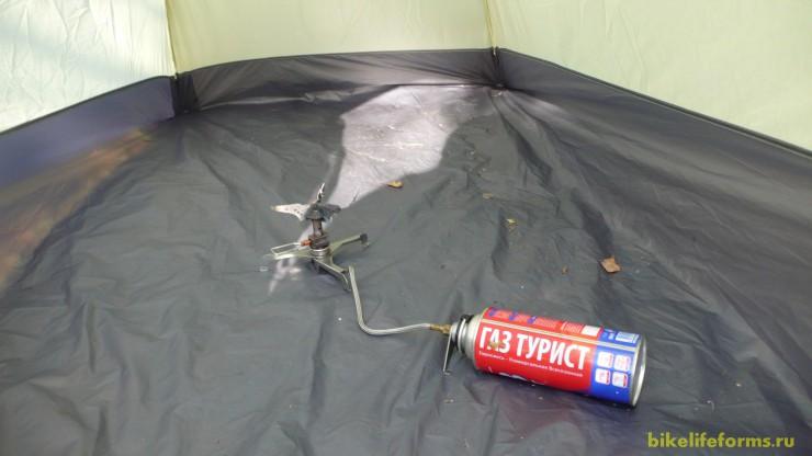 Просушка палатки