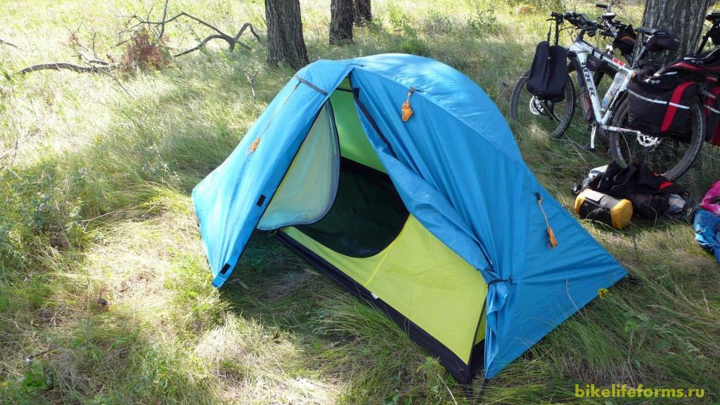 Палатка Исмаила.