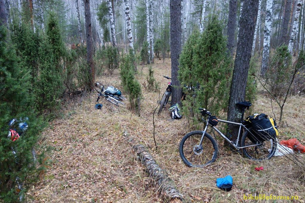 Поздняя осень, но наши велосипеды пока еще не дремлют в гаражах