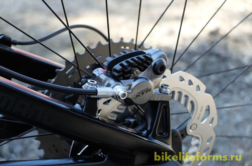 Впечатление о гидравлических тормозах Shimano XTR