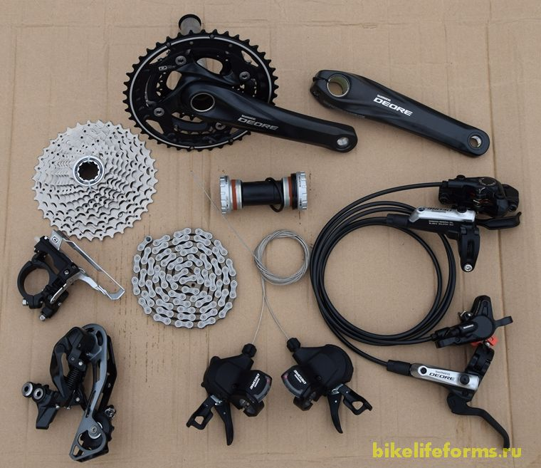 Shimano deore review