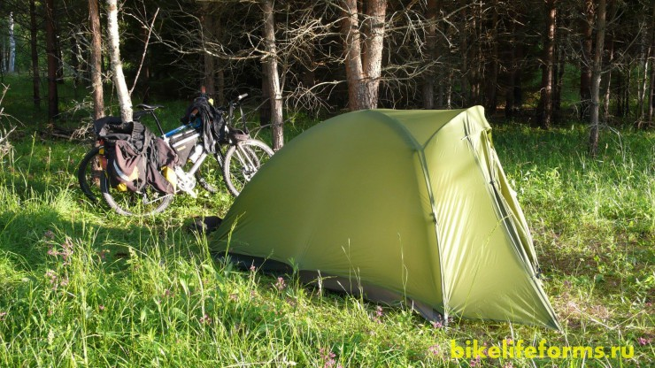 Обзор палатки Vaude Odyssee
