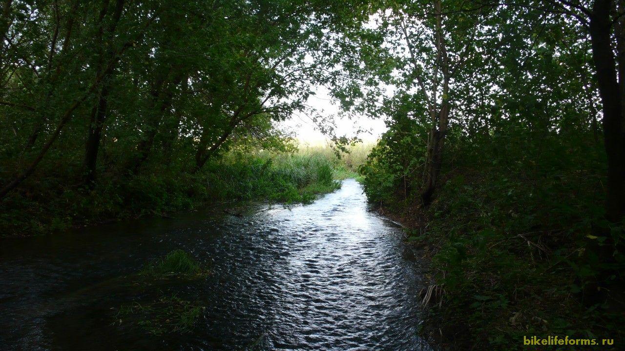 Наконец-то прохладные воды реки Сарма. Мы прячемся в тени ее деревьев, придаемся водным процедурам, обедаем  ложимся передохнуть и даже ненадолго засыпаем.