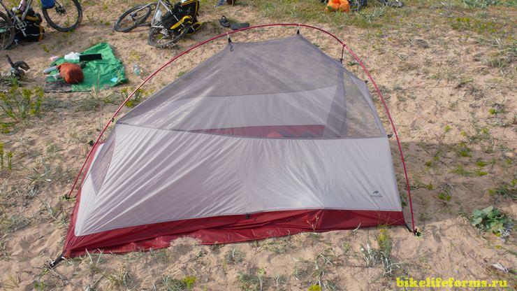 Китайская палатка Naturehike (aliexprees)