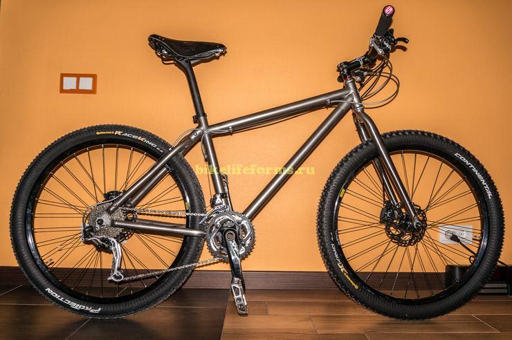 Купить титановый велосипед или собрать?