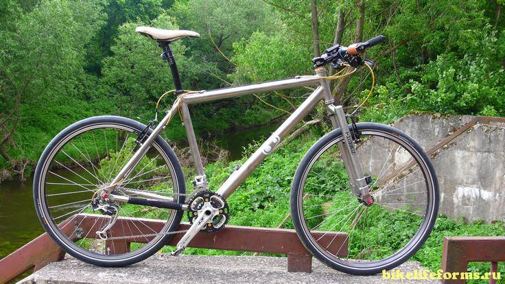 Велосипед с жесткой вилкой