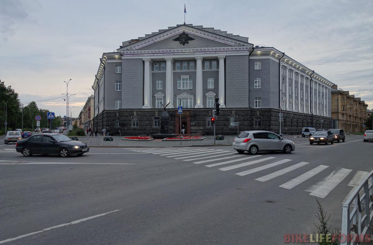 колонны МВД