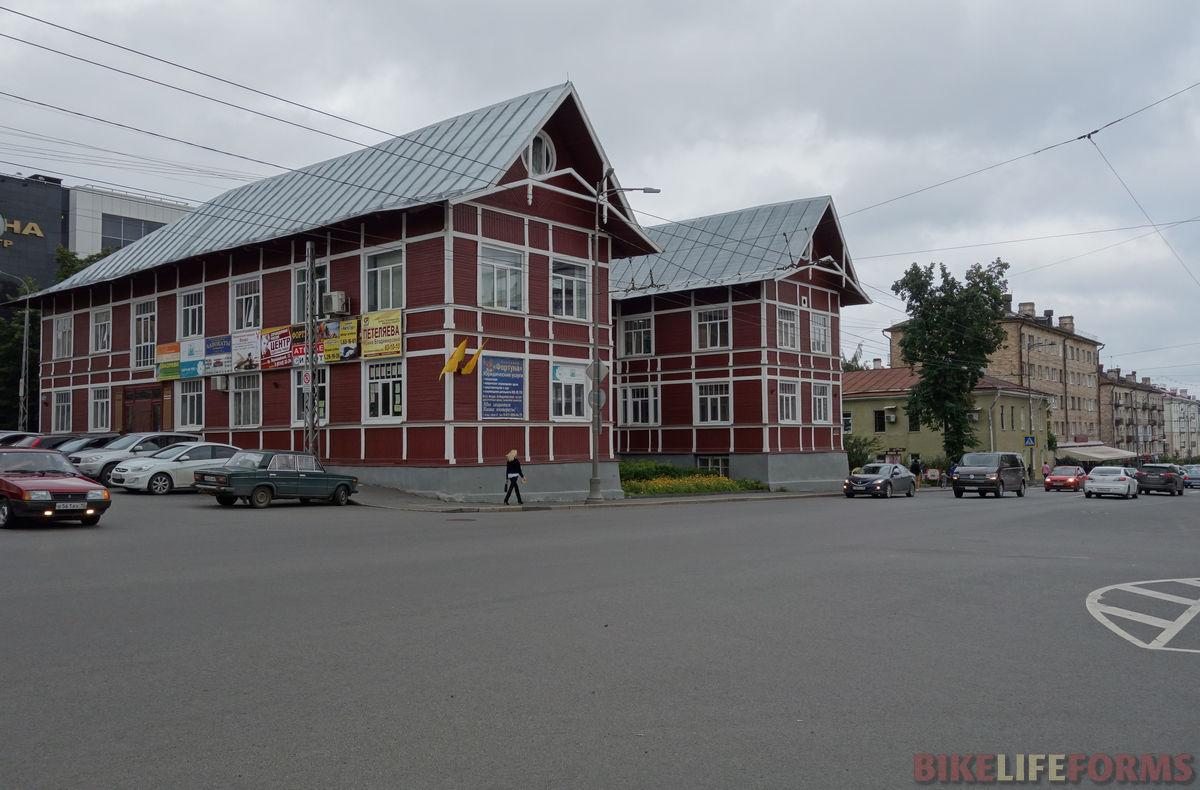 американско-финский деревянный дом