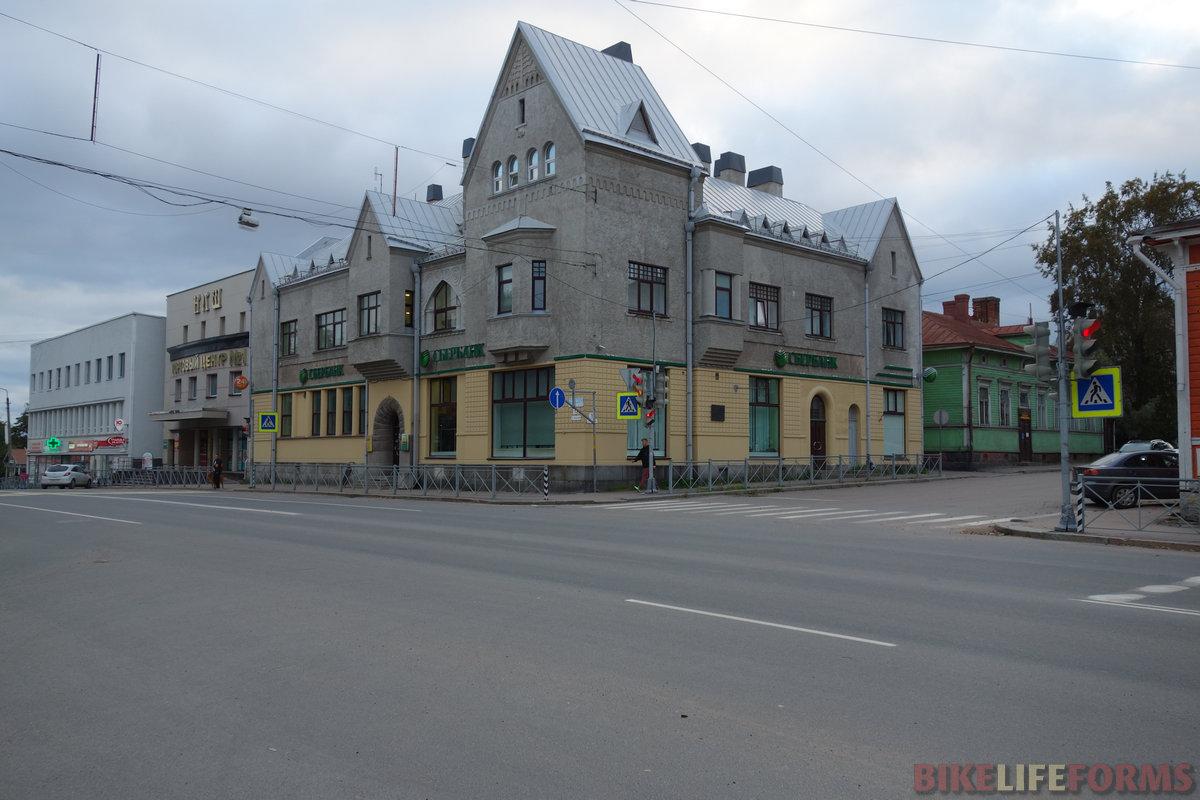 дом Леандера, 1905