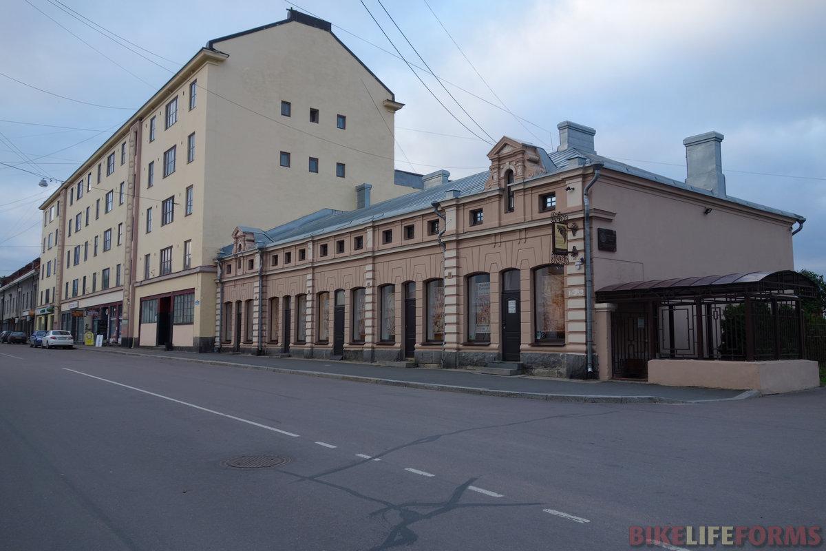 старые здания центра