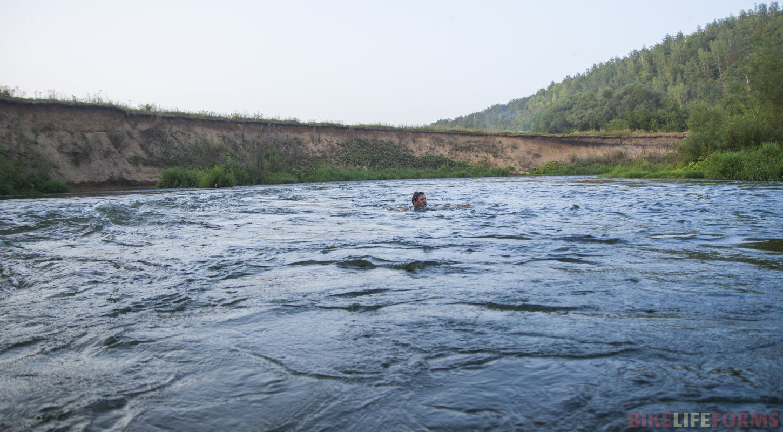 В быстрых водах Амазонки!