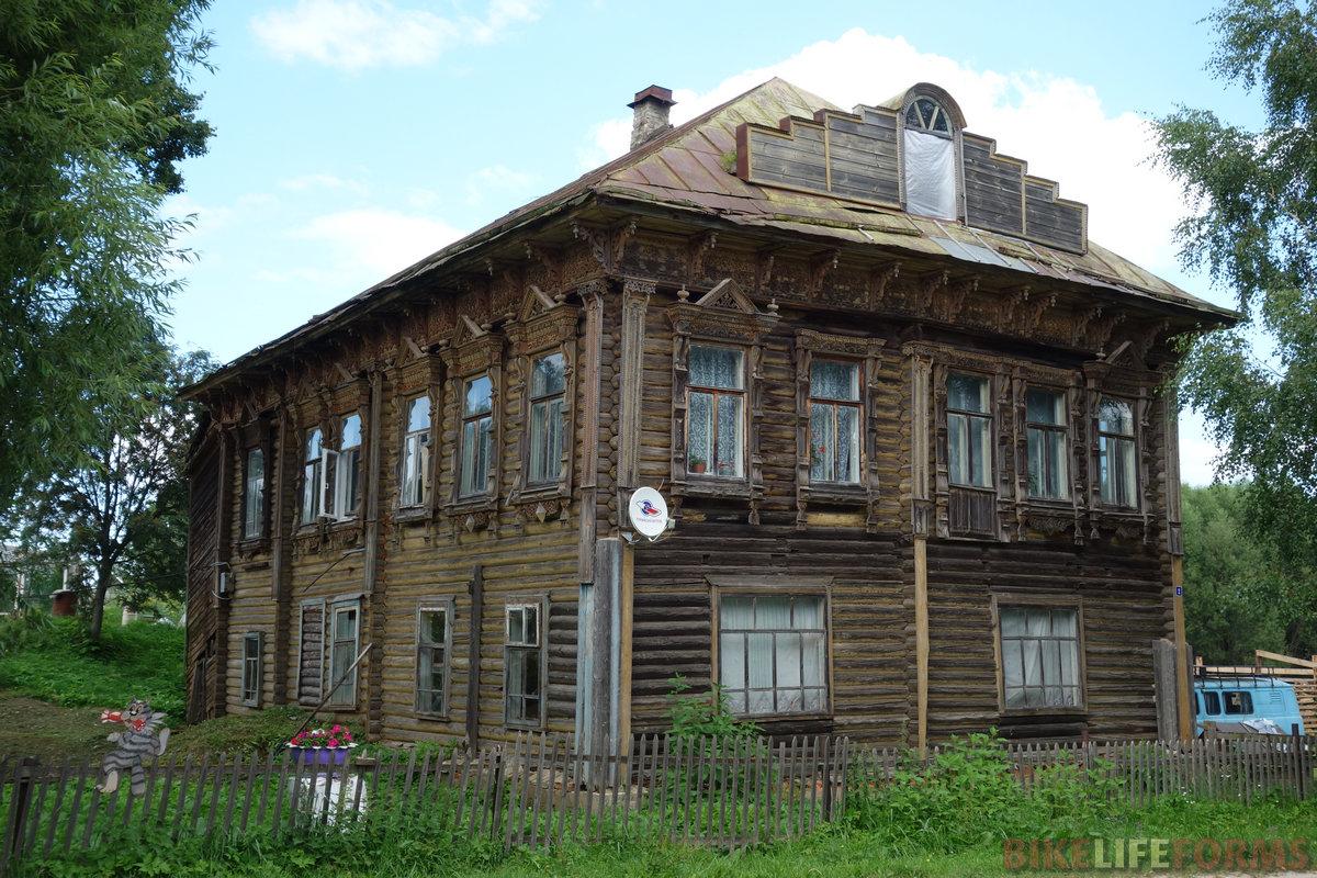 дом купца Александра Белякова, Прозорово 76rus