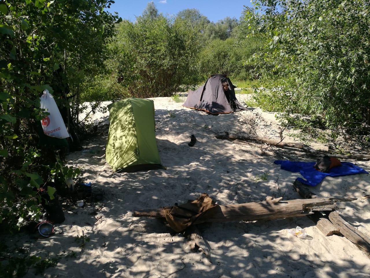 Но сперва надо собрать наш лагерь на реке Хопер, а потом уже и ехать дальше.