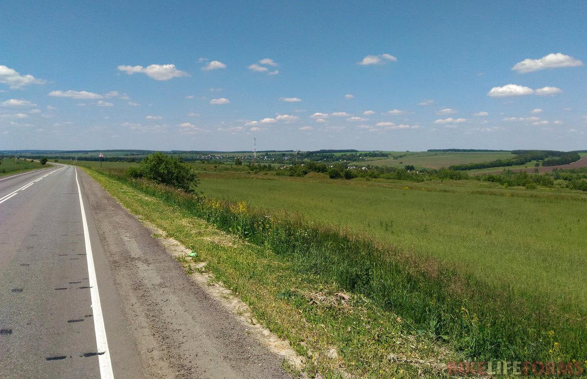 долина Осетра западнее С.Прудов