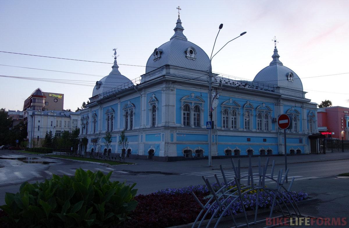 здание духовного училища, 19 век