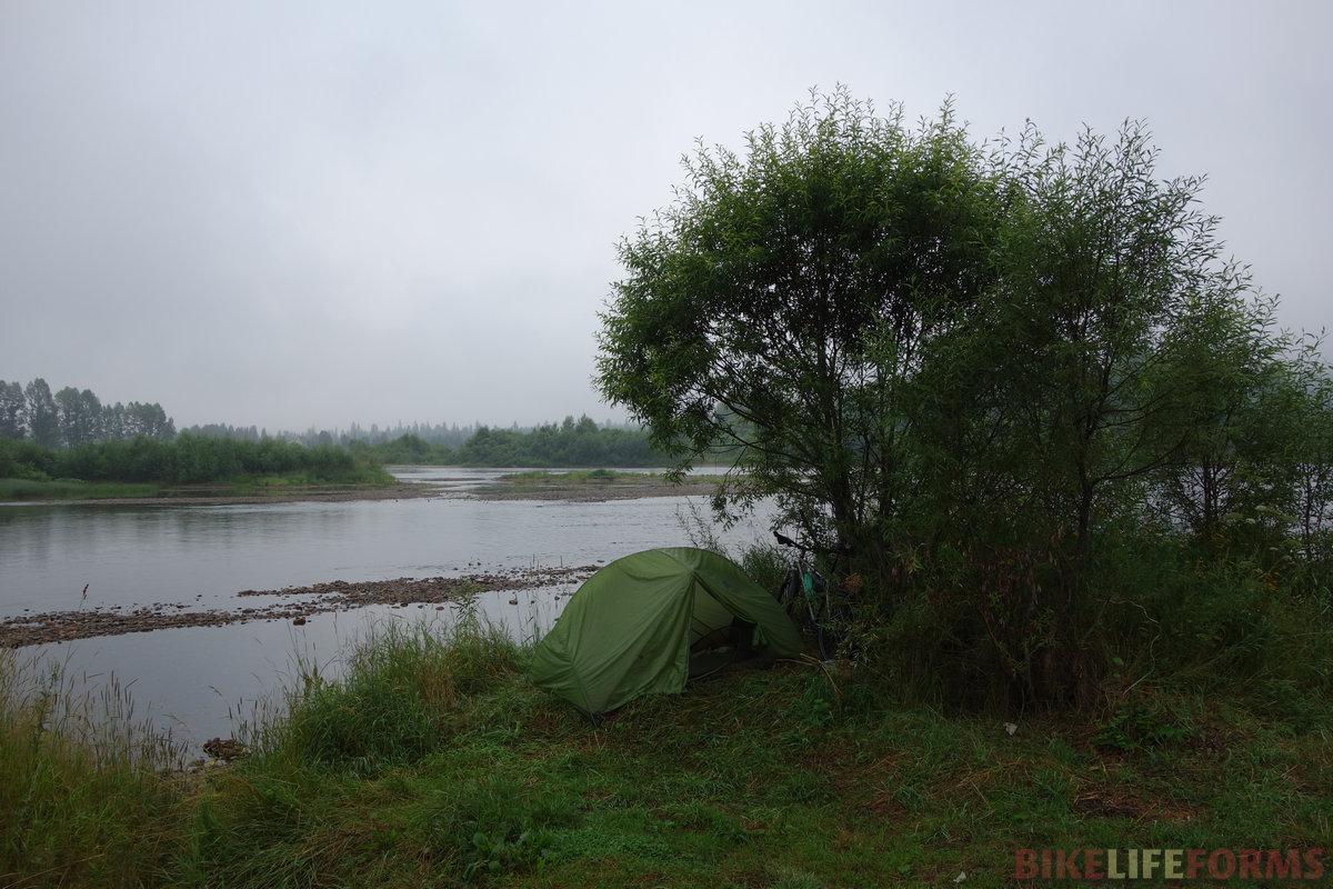 туманное утро, Томь