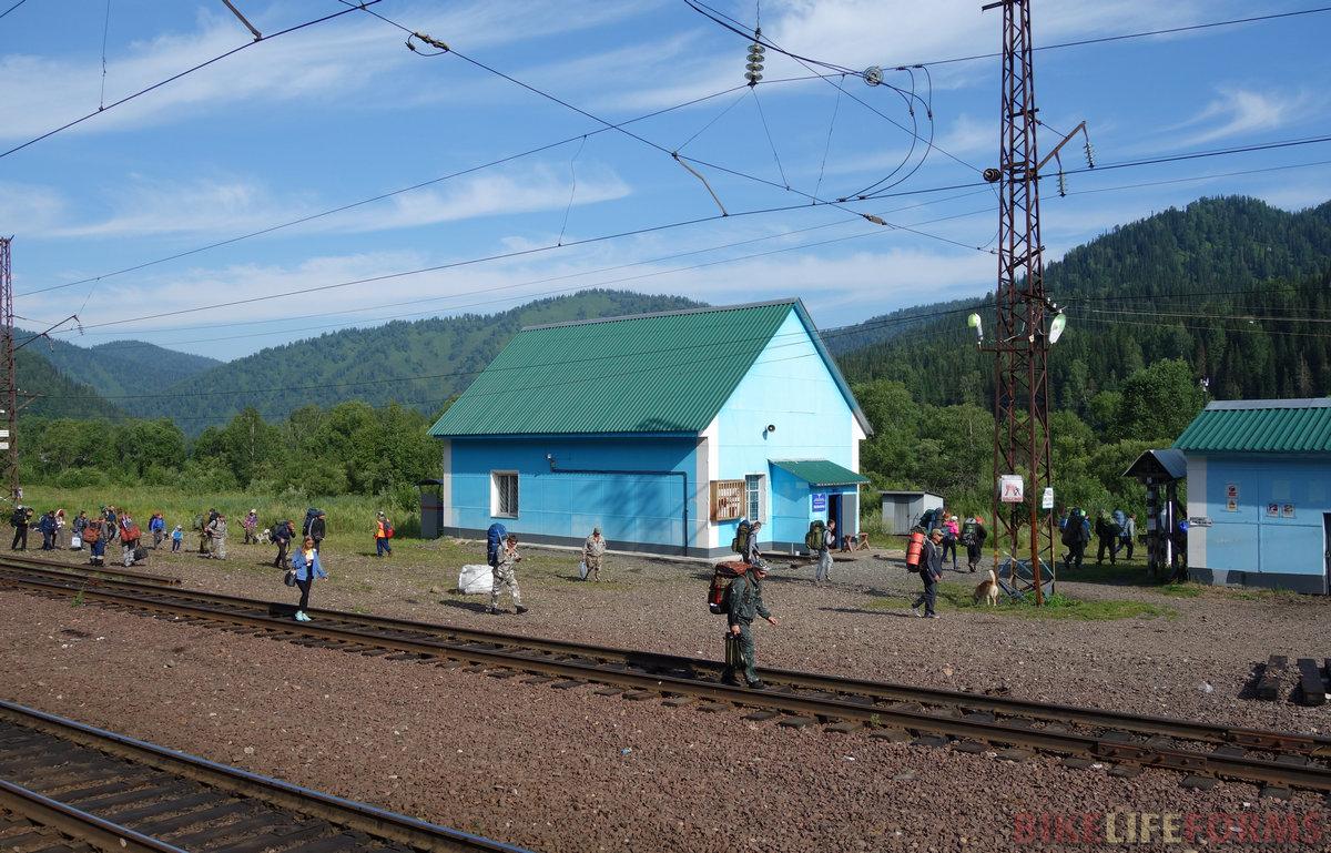 станция Лужба