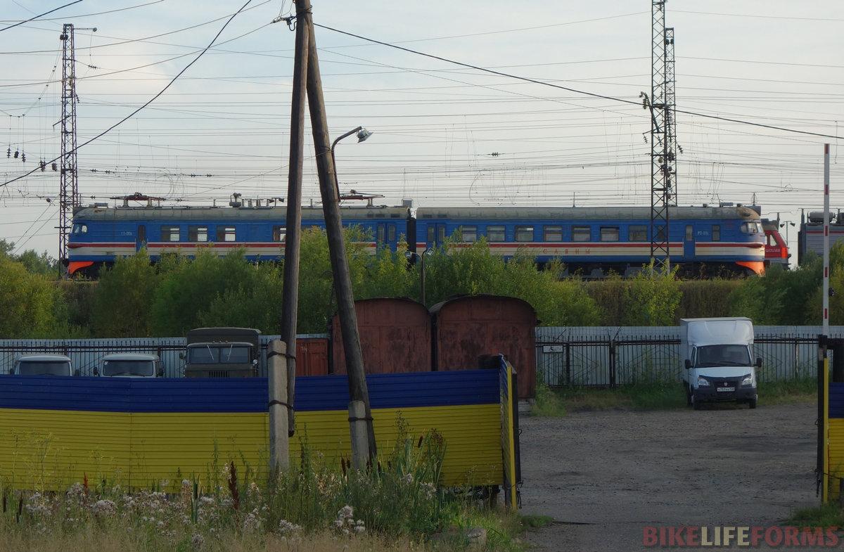 """чудо-электричка. Рабочий поезд РП-006 """"Саяны"""""""