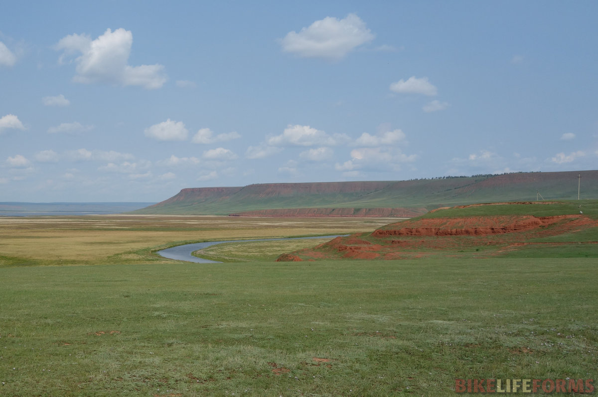 долина речки Залари