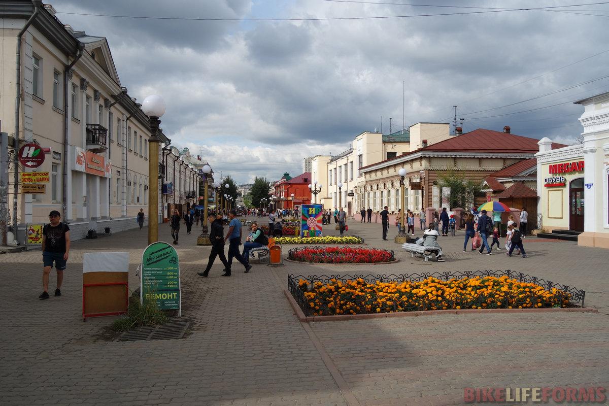 пешая улица