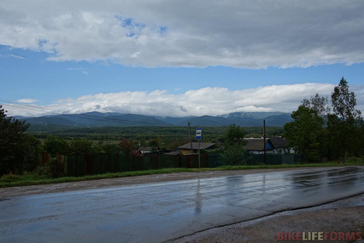 южный Сихотэ-Алинь умылся кратковременным дождем