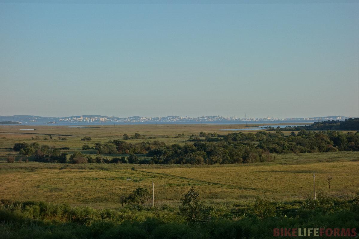 Владивосток! по ту сторону Амурского залива (30 км)