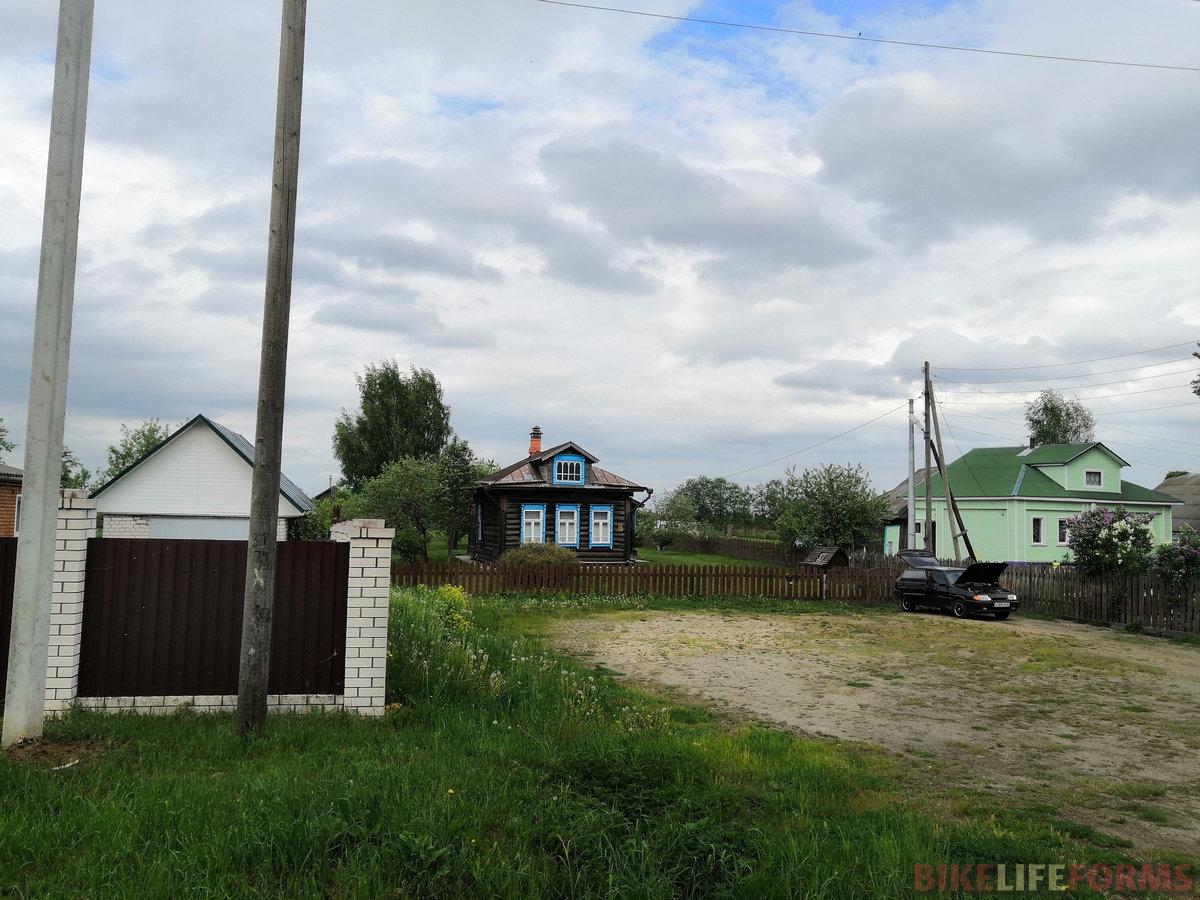 Дом родителей второго Президента Российской Федерации.