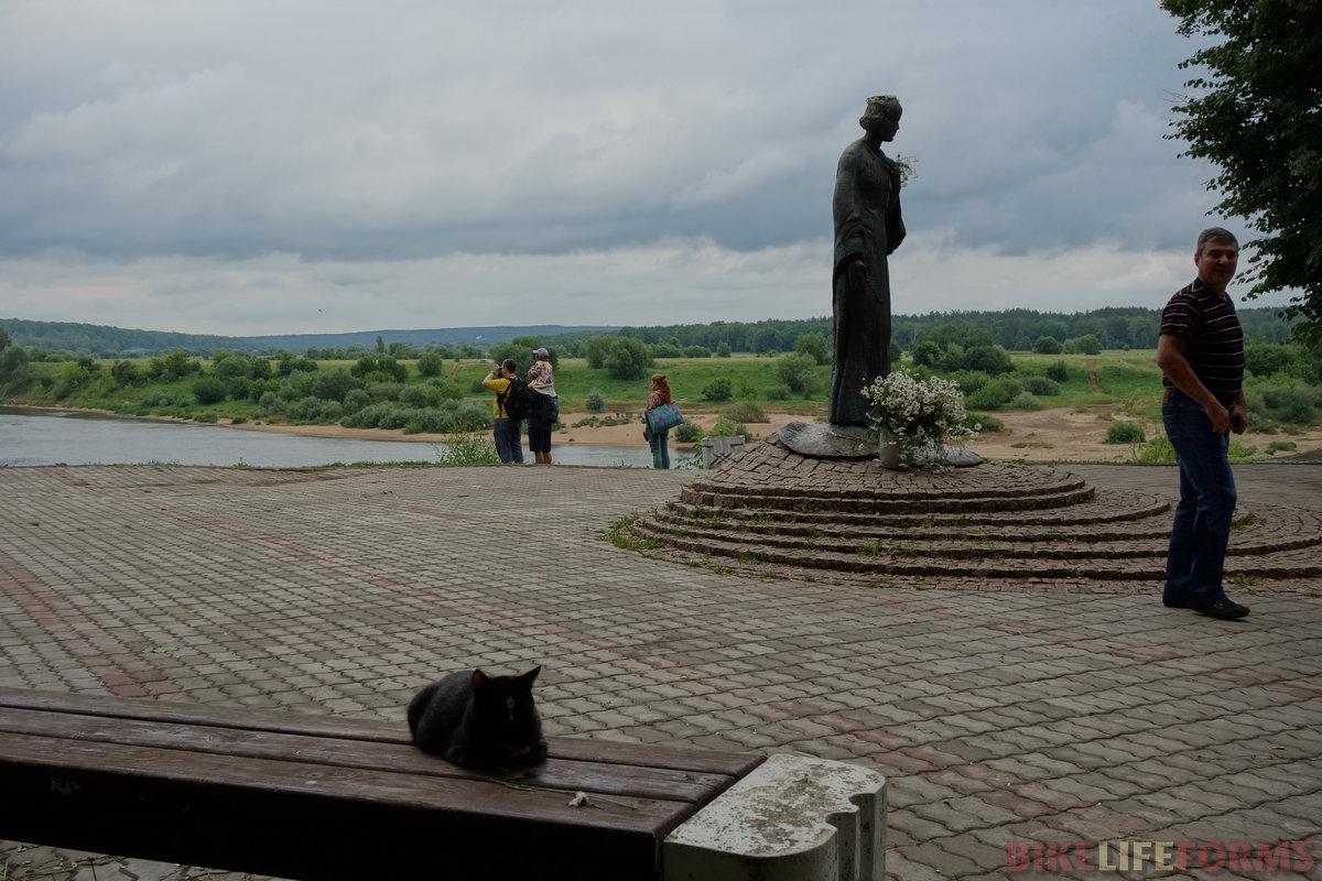 М. Цветаева и нивяник