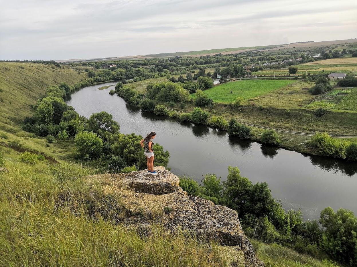 Река Олым и велопоход вдоль ее берегов