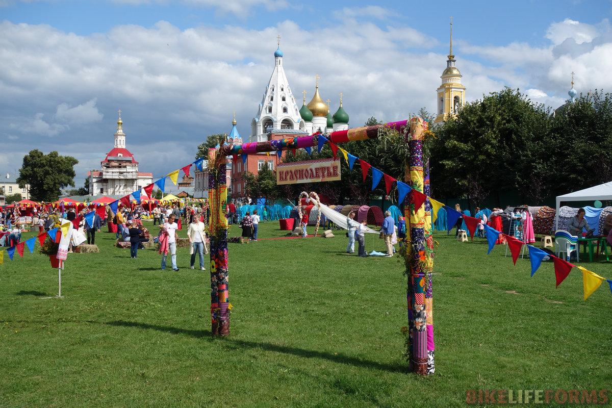 """фестиваль народного творчества """"Краснолетье"""" проводится в Коломне впервые. Дабы не забывать своих корней"""