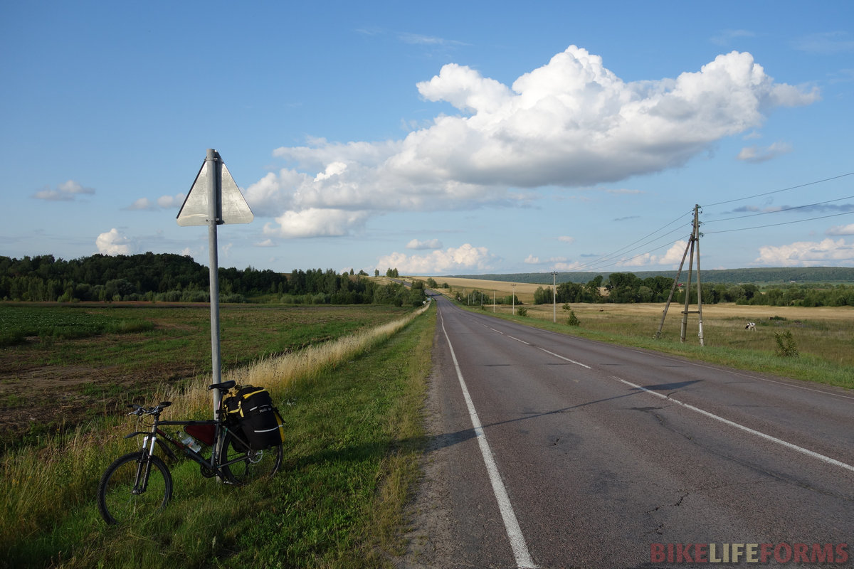 шоссе через Акатьево