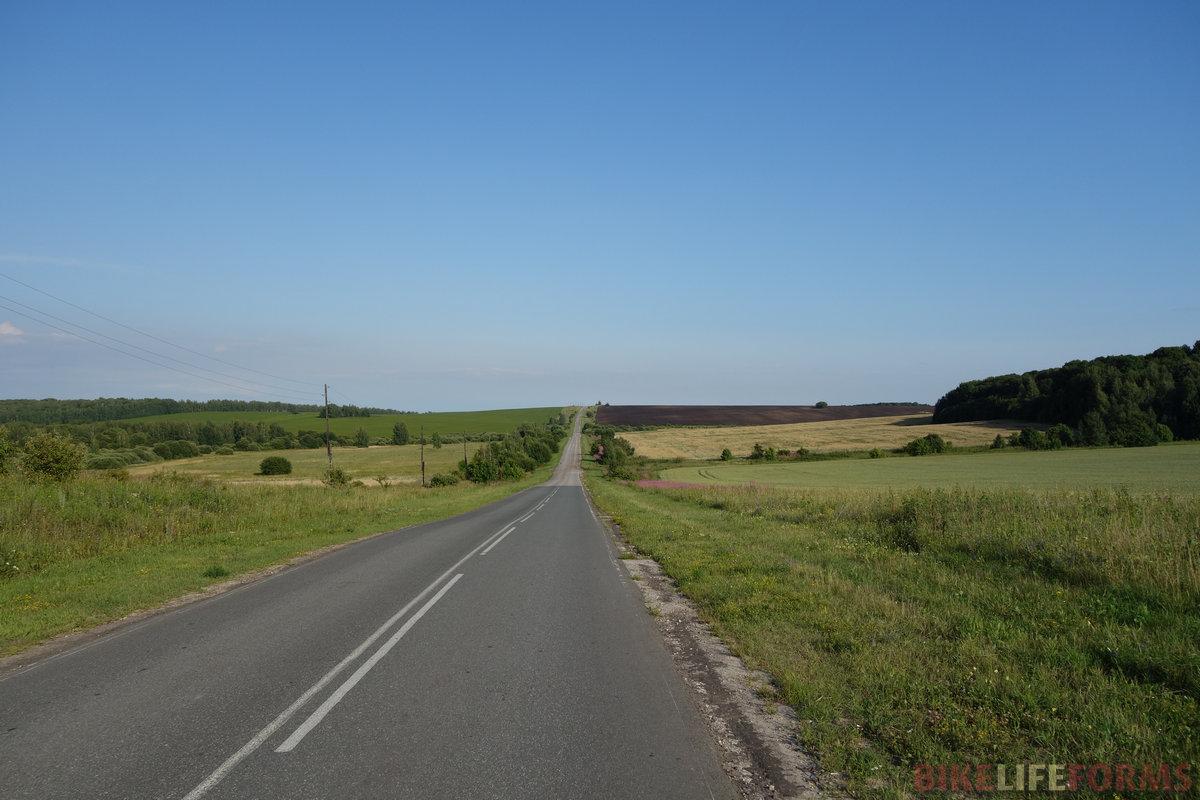 красивая и тихая дорога Б.Коровино - Захарово